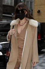 DAKOTA JOHNSON Out and About in London 10/09/2021