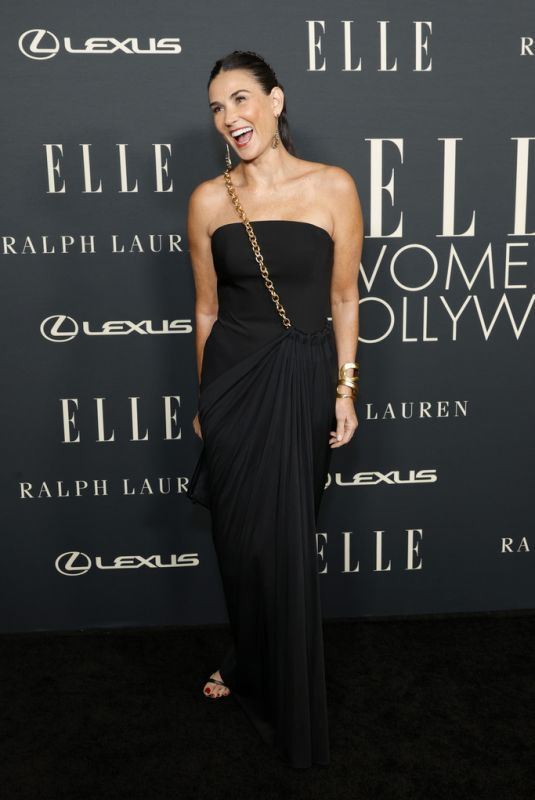 DEMI MOORE at 27th Annual Elle Women in Hollywood Celebration in Los Angeles 10/19/2021