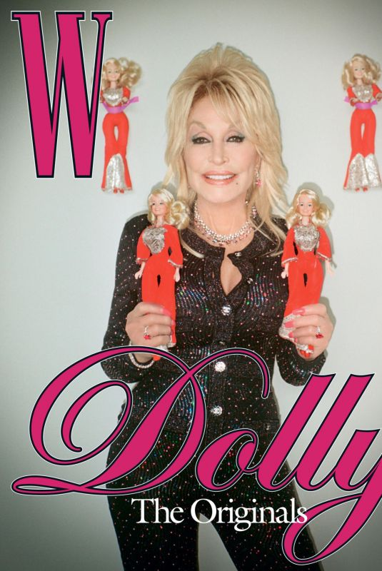 DOLLY PARTON in W Magazine, October 2021