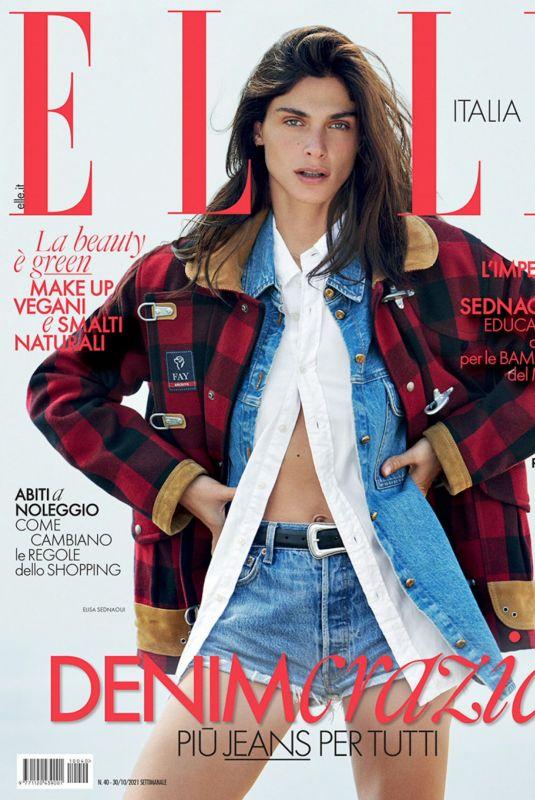 ELISA SEDNAOU in EIlle Magazine, Italy October 2021
