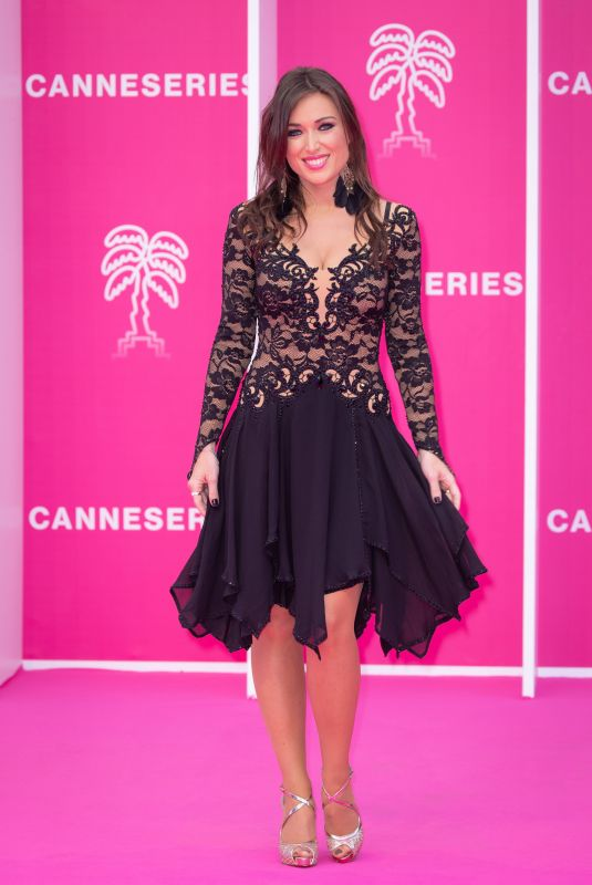 ELSA ESNOULT at 4th Canneseries Festival Opening Ceremony in Cannes 10/08/2021