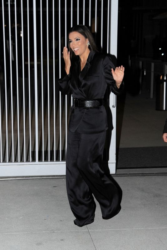 EVA LONGORIA Arrives at Elle Women in Hollywood in Los Angeles 10/19/2021