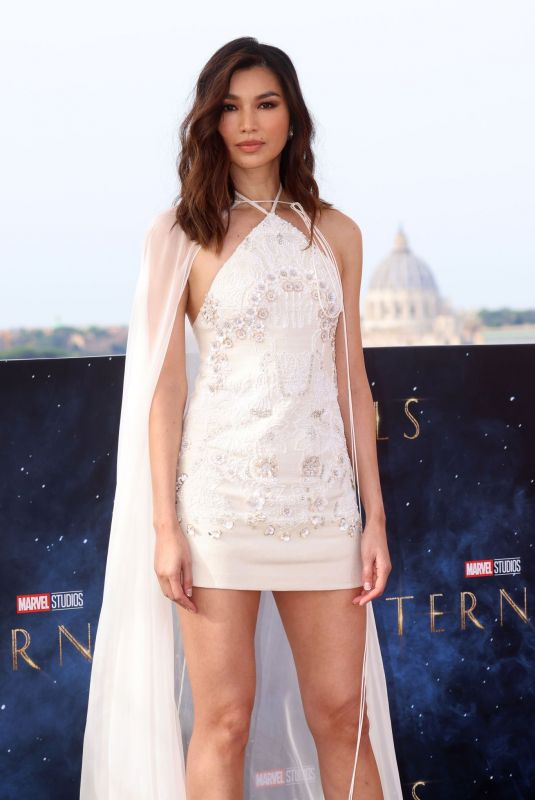 GEMMA CHAN at Eternals Photocall in Rome 10/25/2021
