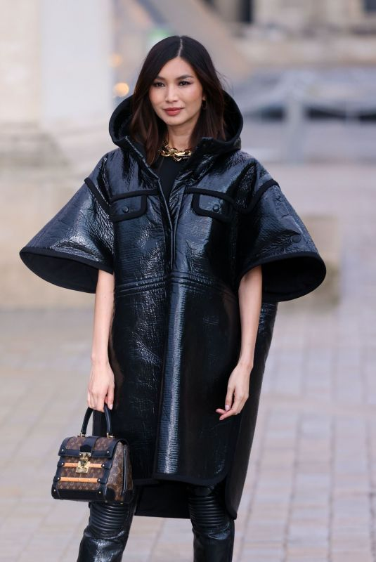 GEMMA CHAN at Louis Vuitton Womenswear Spring/Summer 2022 Dhow at Paris Fashion Week 10/05/2021