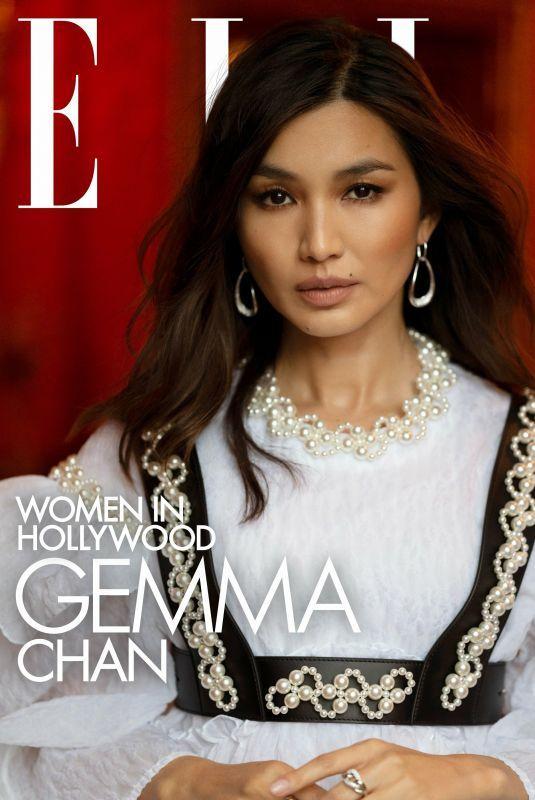 GEMMA CHAN for Elle Magazine, November 2021
