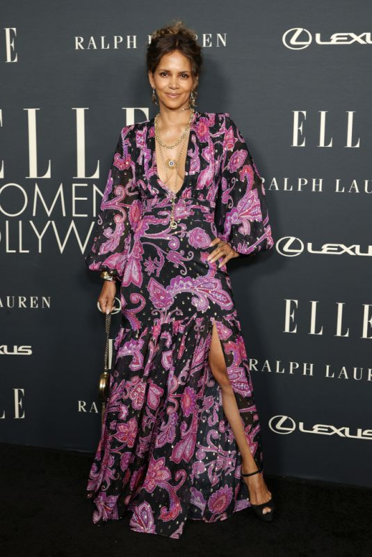 HALLE BERRY at 27th Annual Elle Women in Hollywood Celebration in Los Angeles 10/19/2021