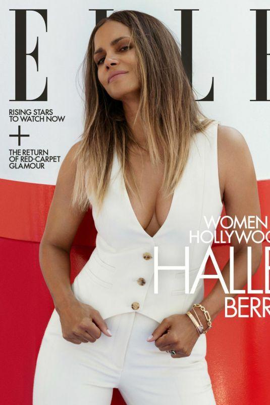 HALLE BERRY for Elle Magazine, November 2021