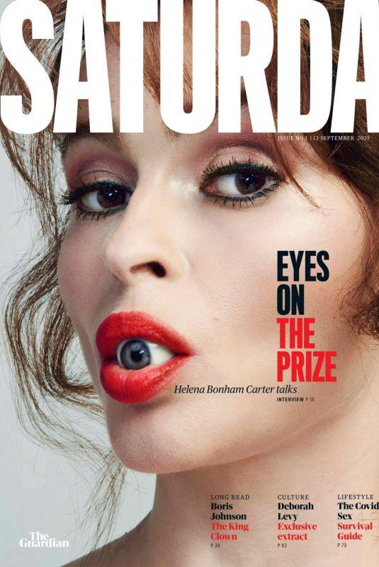 HELENA BONHAM CARTER in Saturday Magazine, September 2021