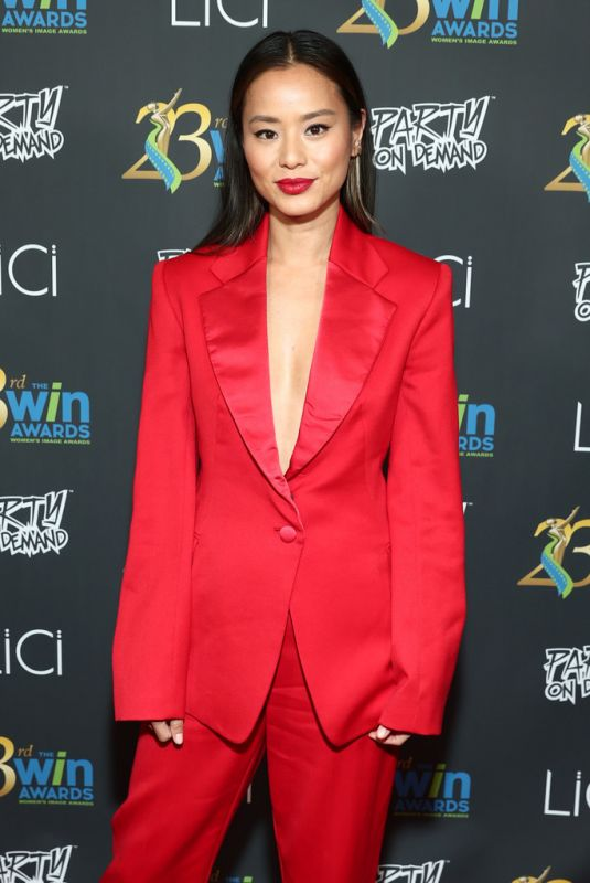 JAMIE CHUNG at 23rd Women's Images Awards in Beverly Hills 10/14/2021