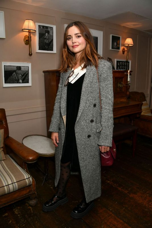 JENNA LOUISE COLEMAN at Tastemaker Screening of The Lost Daughter at Soho House in London 10/13/2021