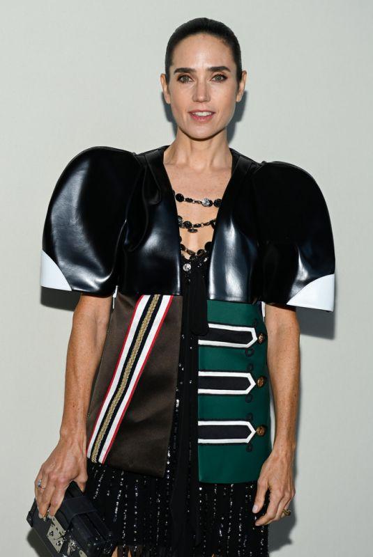 JENNIFER CONNELLY at Louis Vuitton Fashion Show in Paris 10/05/2021