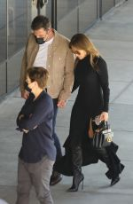 JENNIFER LOPEZ and Ben Affleck Out in West Hollywood 10/03/2021