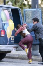 JENNIFER LOPEZ on the Set of The Mother in Vancouver 10/07/2021
