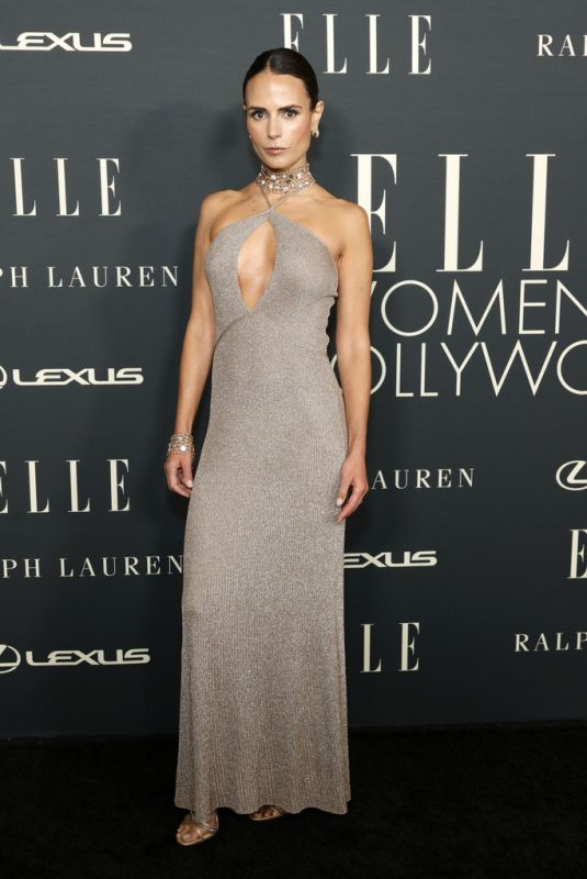 JORDANA BREWSTER at 27th Annual Elle Women in Hollywood Celebration in Los Angeles 10/19/2021