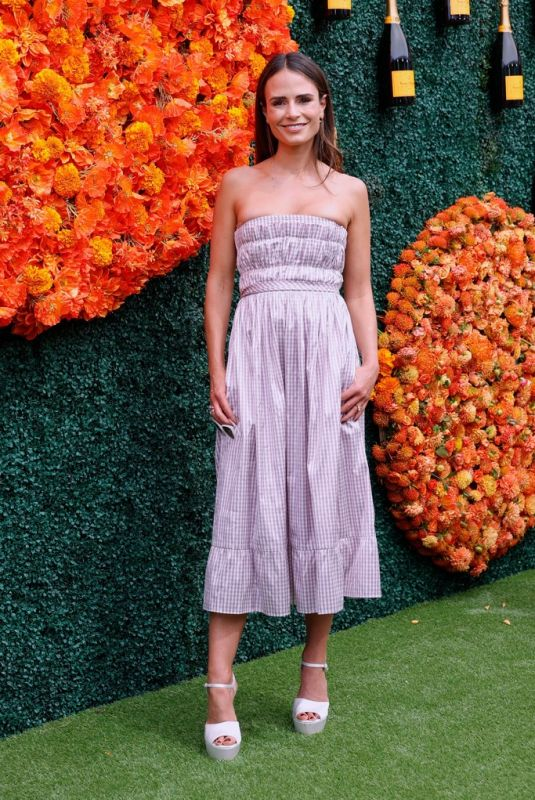 JORDANA BREWSTER at Veuve Clicquot Polo Classic Los Angeles at Will Rogers State Historic Park in Pacific Palisades 10/02/2021