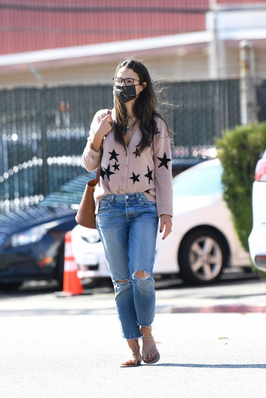 JORDANA BREWSTER Out and About in Santa Monica 10/06/2021
