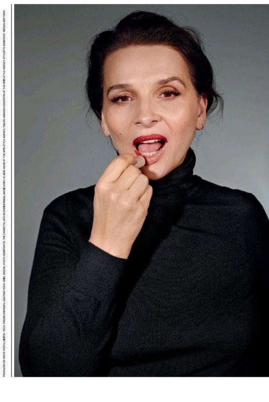 JULIETTE BINOCHE in New York Times Style, October 2021