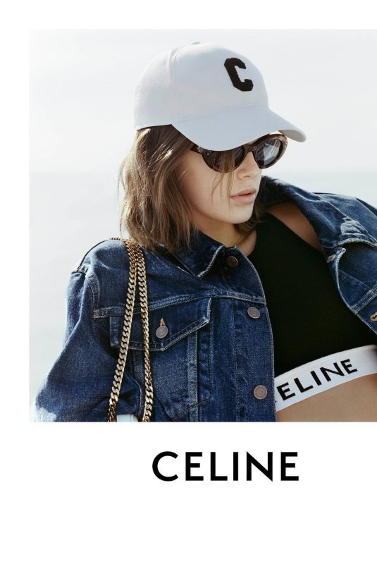 KAIA GERBER for Celine, Spring/Summer 2021
