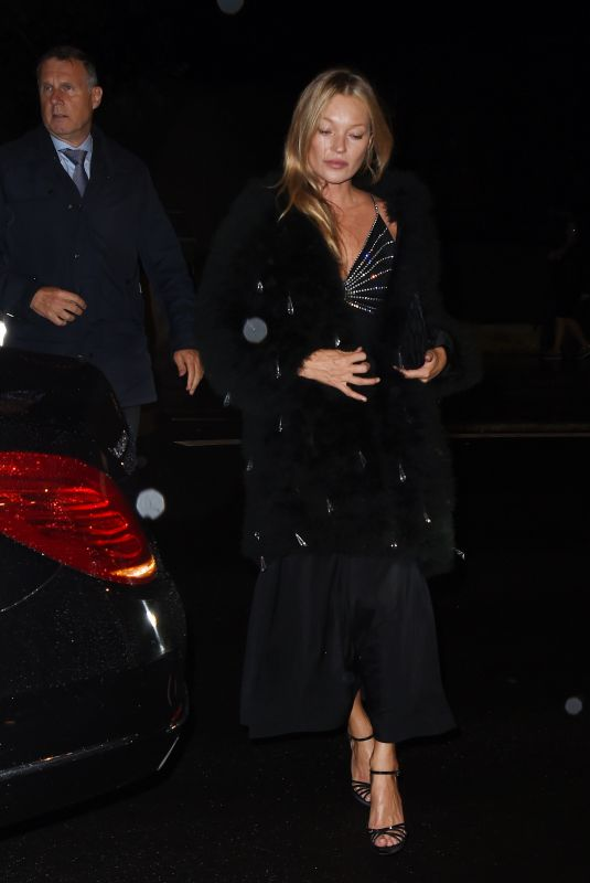 KATE MOSS Night Out in Paris 10/02/2021