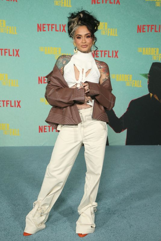 KEHLANI at The Harder They Fall Special Screening in Los Angeles 10/13/2021