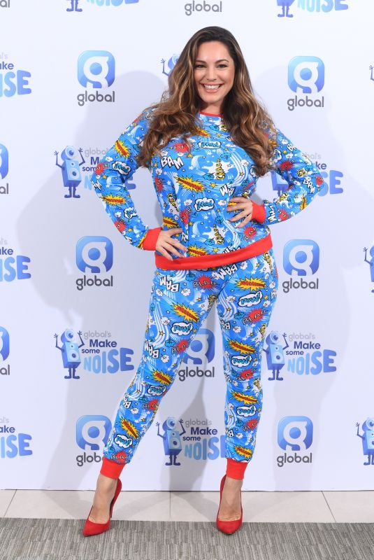 KELLY BROOK at Make Some Noise Charity Day at Global Studios in London 10/08/2021