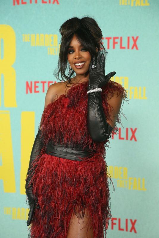 KELLY ROWLAND at The Harder They Fall Special Screening in Los Angeles 10/13/2021