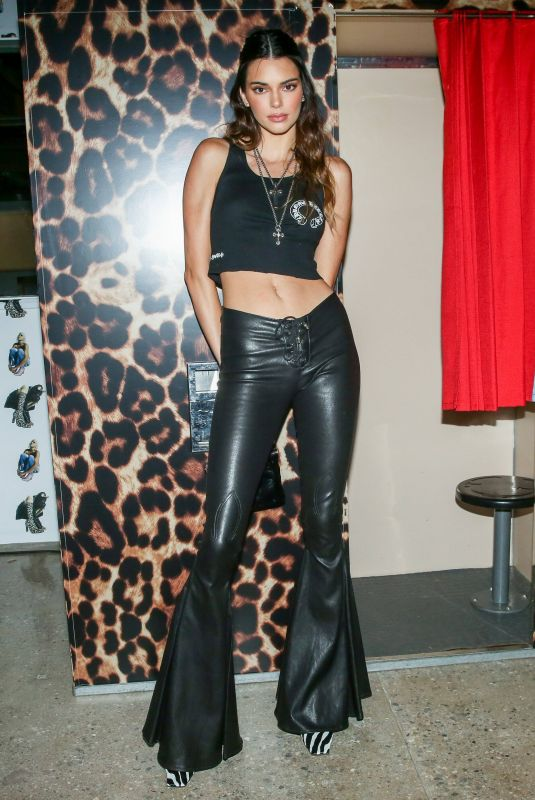KENDALL JENNER at a Private Event at Chrome Hearts in Los Angeles 10/06/2021