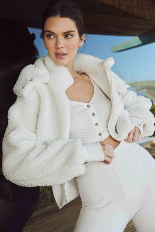 KENDALL JENNER for Alo Holiday Jackets and Coats, Fall 2021