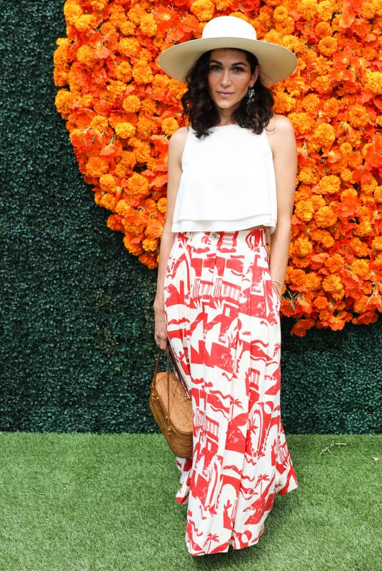 LELA LOREN at Veuve Clicquot Polo Classic Los Angeles at Will Rogers State Historic Park in Pacific Palisades 10/02/2021