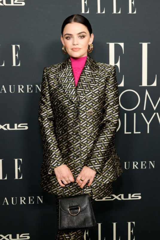 LUCY HALE at 27th Annual Elle Women in Hollywood Celebration in Los Angeles 10/19/2021
