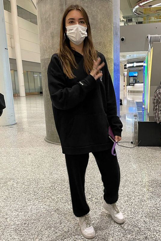 MADISON BEER Out in Toronto 10/18/2021