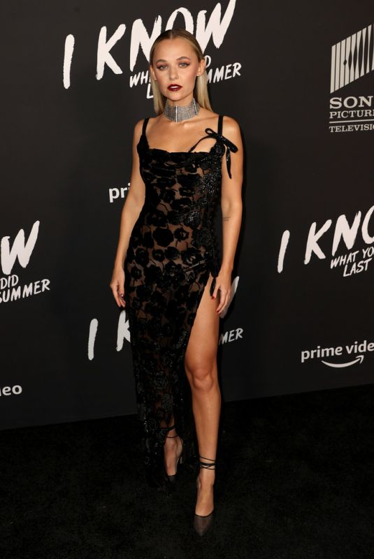 MADISON ISEMAN at I Know What You Did Last Summer Premiere in Los Angeles 10/13/2021