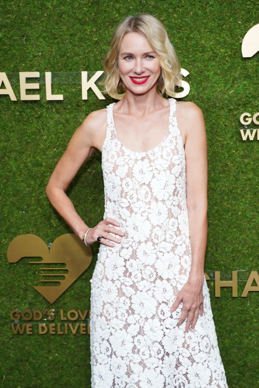 NAOMI WATTS at Golden Heart Awards Benefiting God's Love We Deliver in New York 10/18/2021