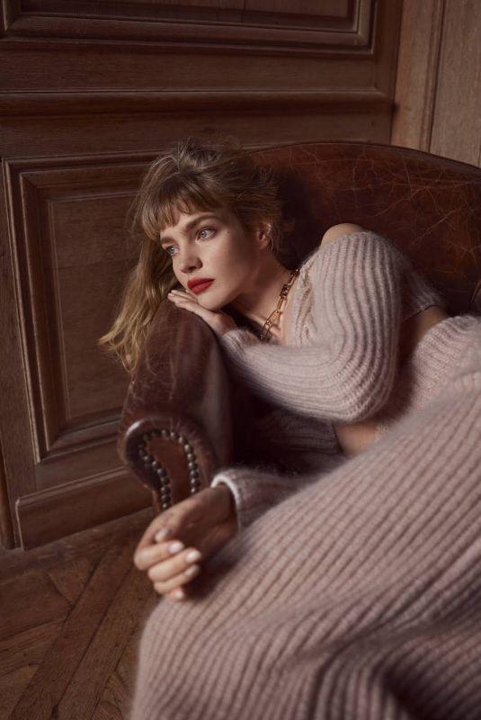 NATALIA VODIANOVA for Harper's Bazaar Magazine, UK September 2021