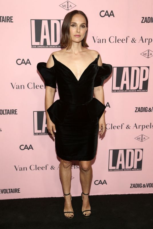 NATALIE PORTMAN at Unforgettable Evening Under The Stars to Benefit L.A. Dance Project in Los Angeles 10/16/2021