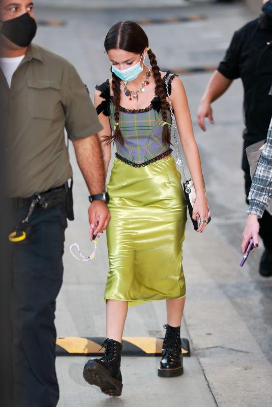 OLIVIA RODRIGO Leaves El Capitan Entertainment Centre in Hollywood 10/26/2021