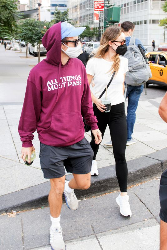 OLIVIA WILDE and Harry Styles Out in New York 10/16/2021