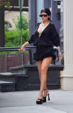 RIHANNA Out Shopping in New York 10/02/2021