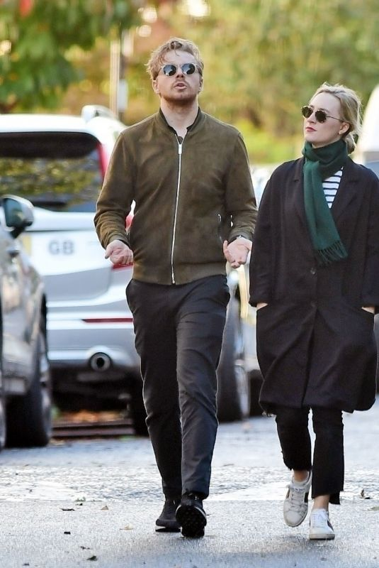 SAOIRSE RONAN and Jack Lowden Out in London 10/03/2021