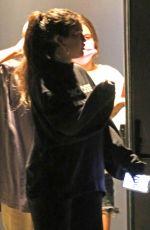 SELENA GOMEZ Leaves a Studio in Los Angeles 10/01/2021