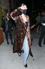 SELENA GOMEZ Out for Dinner at TAO in Hollywood 10/09/2021