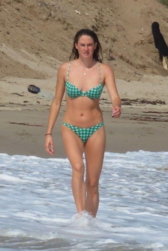 SHAILENE WOODLEY in Bikini at a Beach in Malibu 09/30/2021
