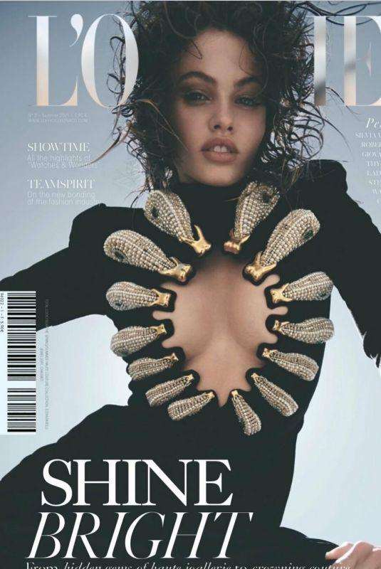 THYLANE BLONDEAU for L'Officiel Magazine, Monaco Summer 2021