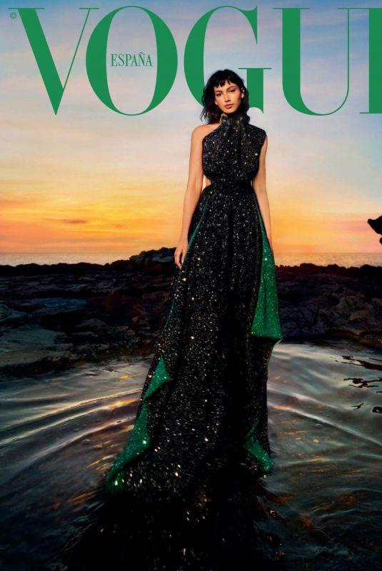 URSULA CORBERO for Vogue Magazine, Spain September 2021