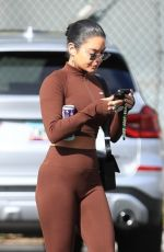 VANESSA HUDGENS and GG MAGREE at Dogpound Gym in Los Angeles 10/11/2021