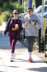 VANESSA HUDGENS and GG MAGREE at Dogpound Gym in Los Angeles 10/12/2021