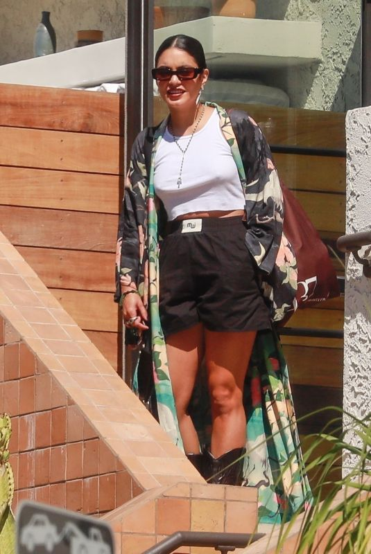 VANESSA HUDGENS at Marco Polo Hotel in Silver Lake 10/01/2021