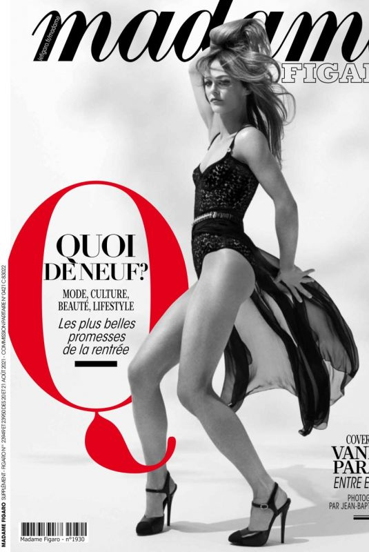 VANESSA PARADIS in Madame Figaro, August 2021