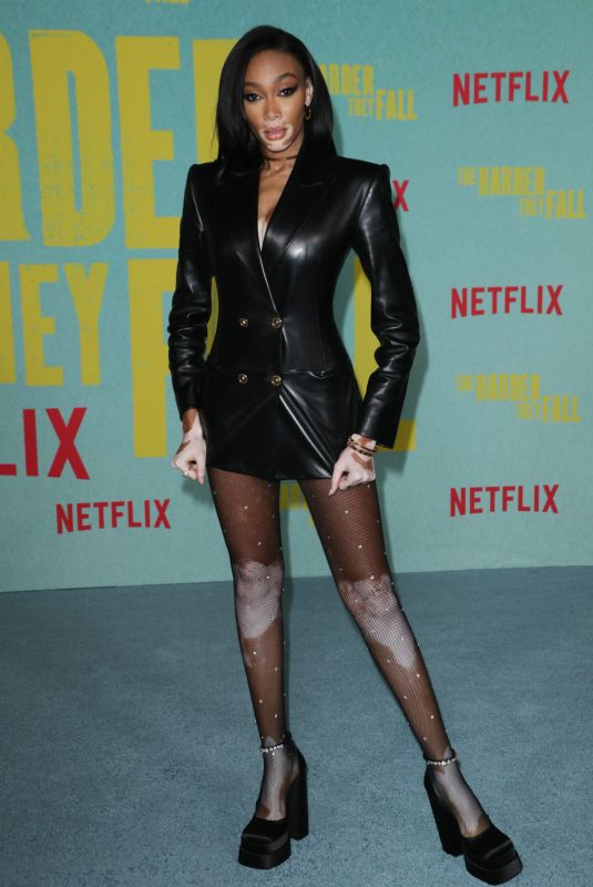 WINNIE HARLOW at The Harder They Fall Special Screening in Los Angeles 10/13/2021